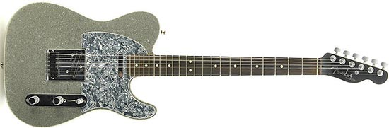 Fender Telecaster Silversparkle