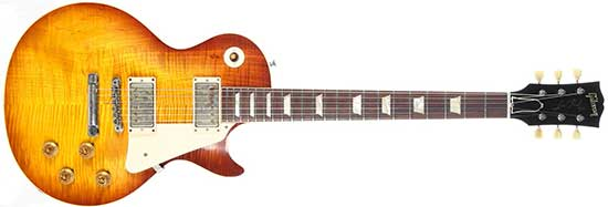 """Billy Gibbons Gibson Les Paul Standard """"Pearly Gates"""" Reissue"""