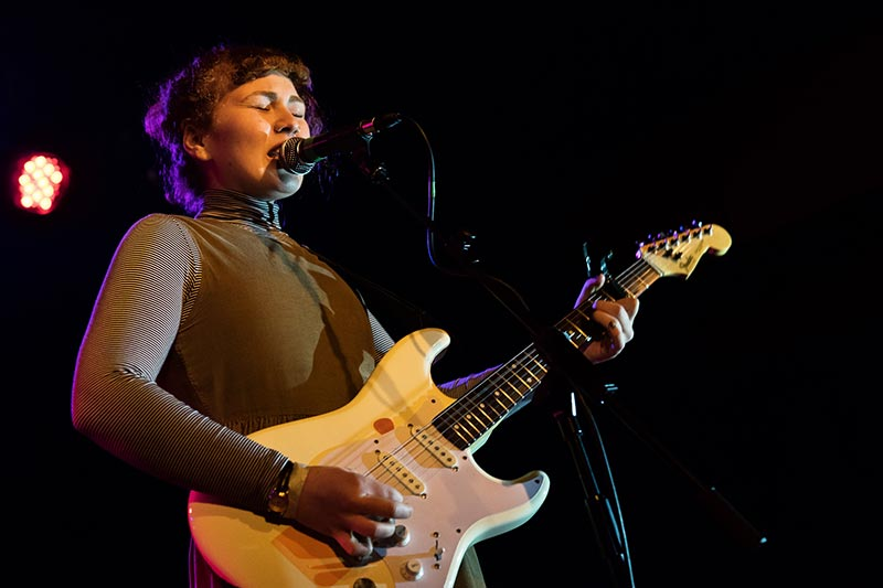 The Female Indie Band Girlpool Playing Live