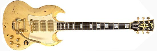 Glen Buxton Gibson Custom SG