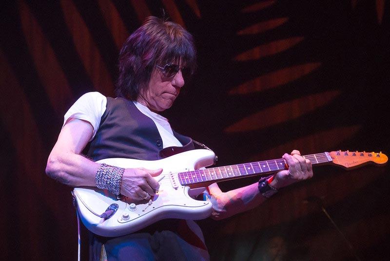 Jeff Beck Playing Guitar