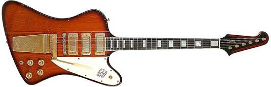 1965 Gibson Firebird VII & 1966 Gibson Firebird