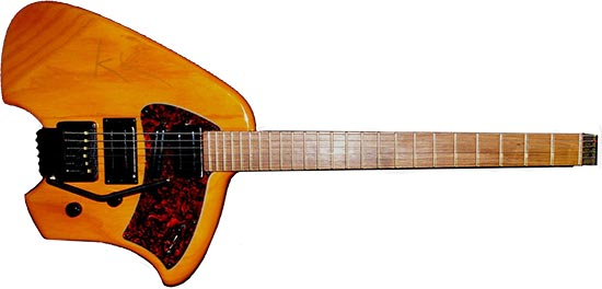 Klein Chambered Electric Guitar
