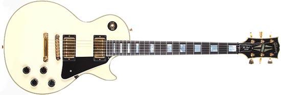 Lindsey Buckingham Gibson Les Paul Custom White