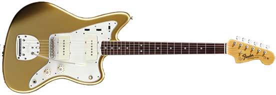 Golden Fender Jazzmaster