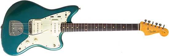 Seafoam Fender Jazzmaster