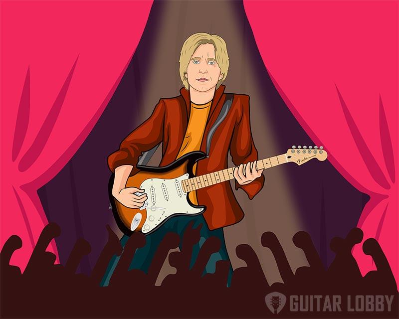 Eric Johnson Playing Guitar