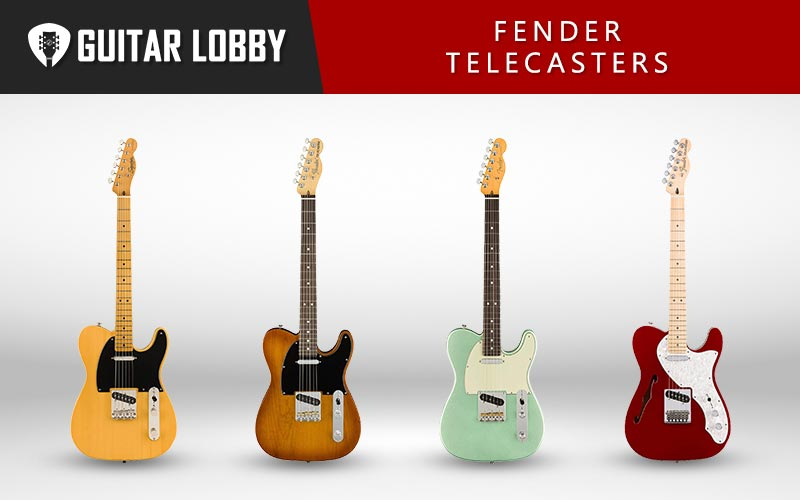 Fender Telecaster Guitars Featured Image