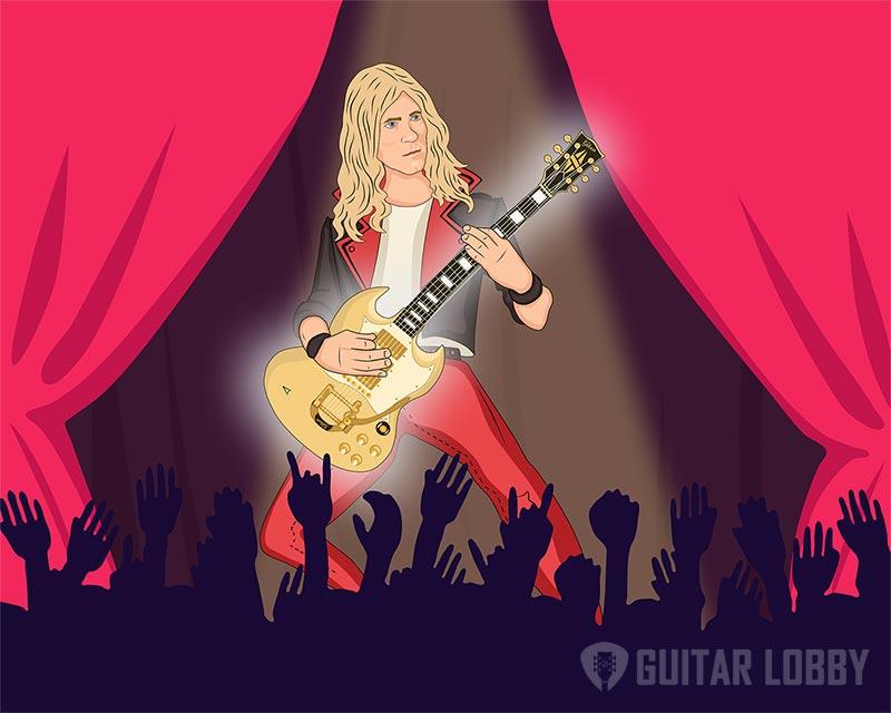 Glen Buxton Playing Guitar Animation