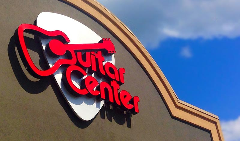 Guitar Center Store Front