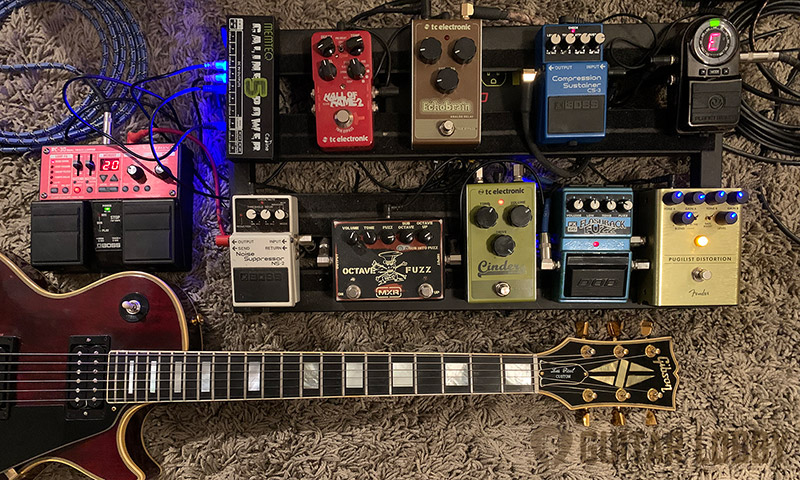 Guitar Pedal Order Featured Image