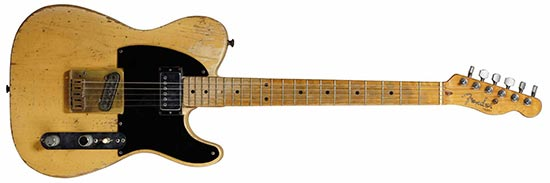 "Keith Richards 1953 ""Micawber"" Fender Telecaster"
