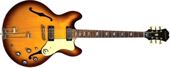 Lou Reed Epiphone Riviera Guitar