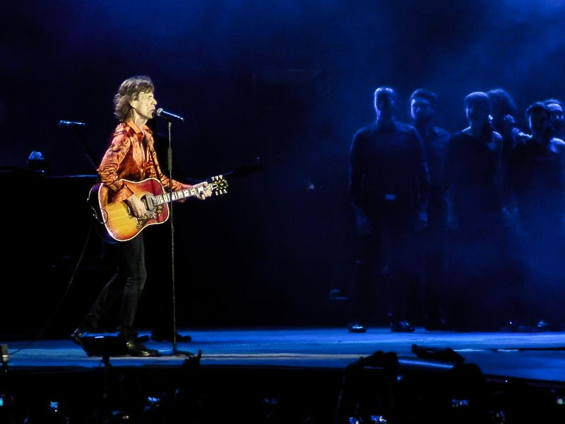 Mick Jagger Playing One of the Most Popular Songs in Minor Key