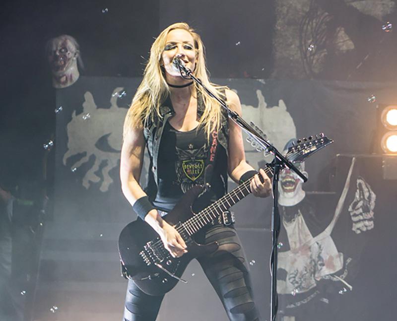 Nita Strauss Playing Guitar