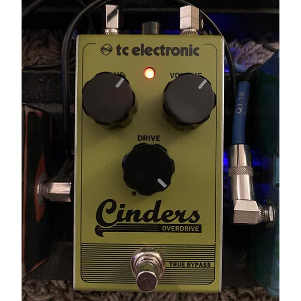 Overdrive Effect Pedal Example