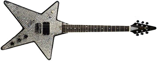 Paul Stanley Steve Carr Star Guitar