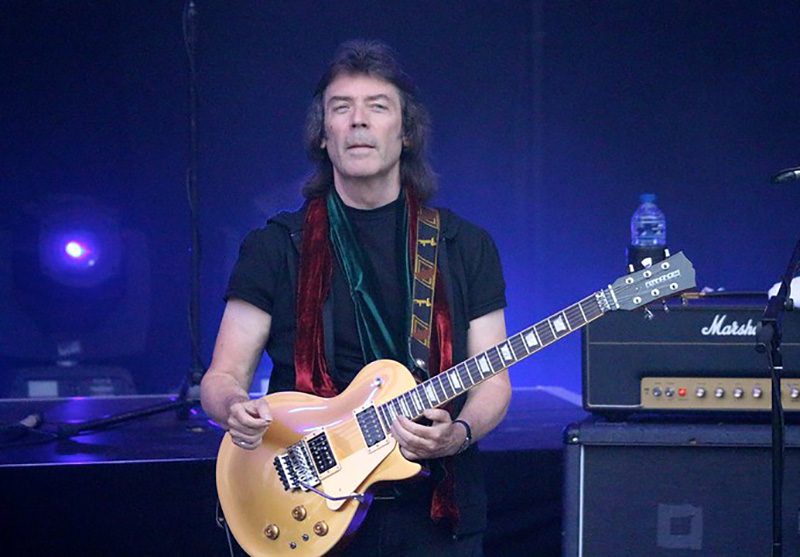 Steve Hackett Playing Guitar