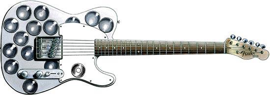 Syd Barrett Mirrored Guitar Fender Esquire