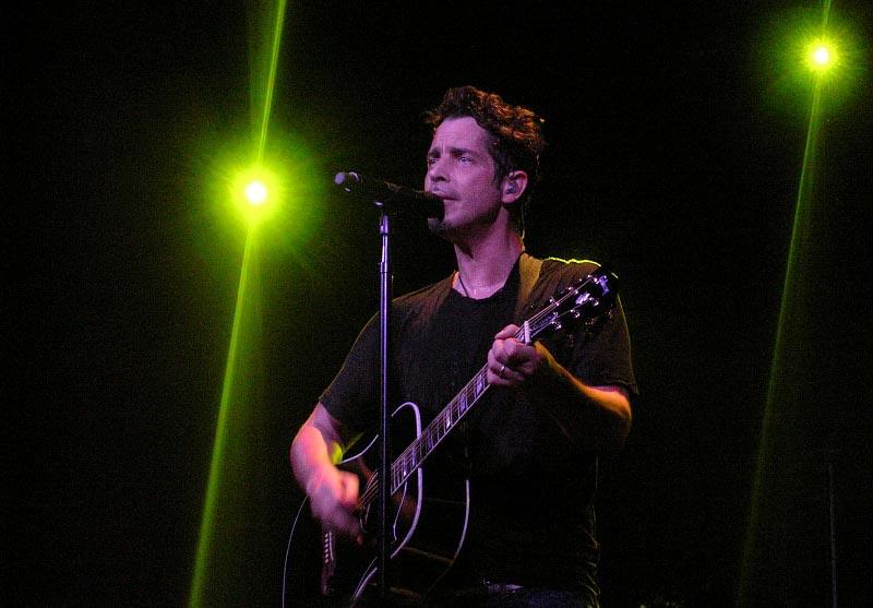 Chris Cornell Playing a Sad Guitar Song
