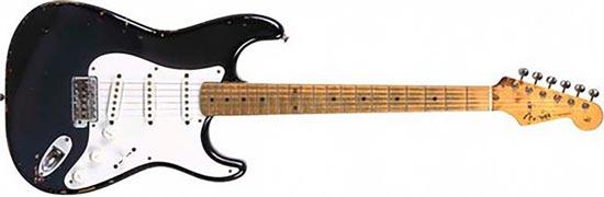 Fender Black Stratocaster 1954