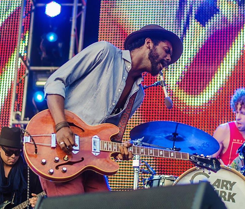 Gary Clark Jr Playing Guitar Live