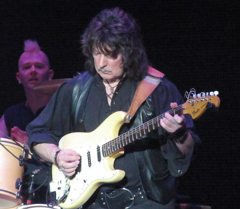 Ritchie Blackmore Playing Guitar