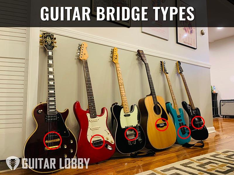 Guitar Bridge Types Featured Image