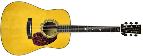 Martin HD-40 Tom Petty Signature