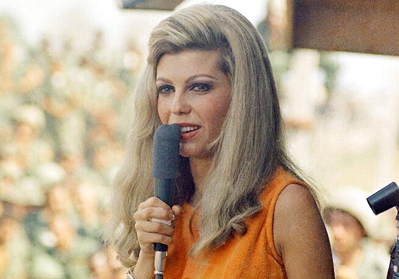 One of the Best Female Singers of the 60s and 70s-Nancy Sinatra Performing Live