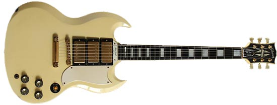 Pat Smear Gibson SG Custom White